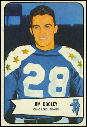 1954BowmanFootballDooleyBorder